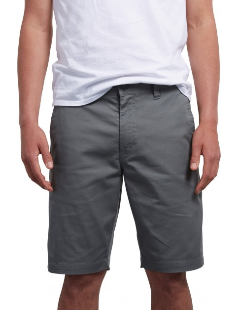 Volcom Frickin Modern Shorts in Dusty Green