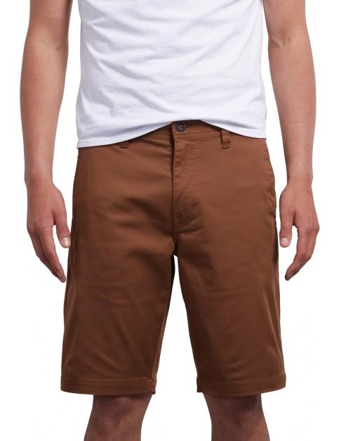 Volcom Frickin Modern Shorts in Hazelnut