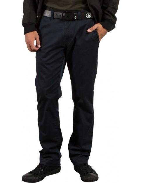 Volcom Frickin Modern Stret Chino Trousers in Dark Navy