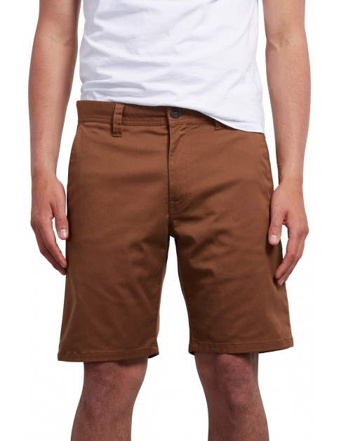 Volcom Frickin Modern Stretch 19 Shorts in Hazelnut