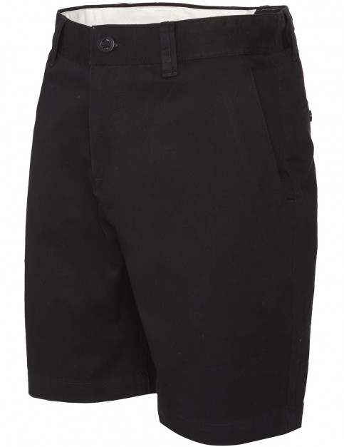 Black Volcom Frickin Reg Chino Shorts