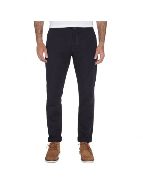 Volcom Frickin Reg Slim Fit Trousers in Navy