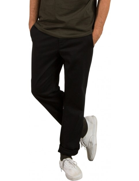Volcom Frickin Regular Chino Trousers in Black