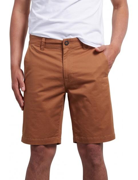 Volcom Frickin Slim 18 Shorts in Camel
