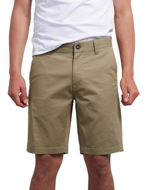 Volcom Frickin Slim 18 Shorts in Moss