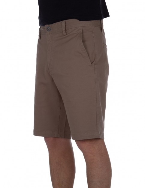 Volcom Frickin Slim Chino Shorts in Beige