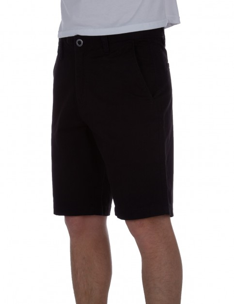 Volcom Frickin Slim Chino Shorts in Black