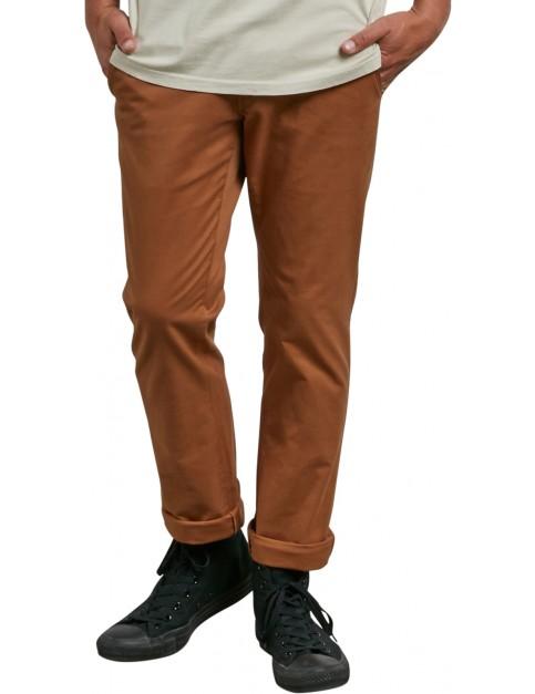 Volcom Frickin Slim Chino Trousers in Camel