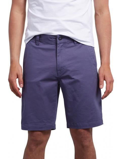 Volcom Frickin Slim Shorts in Deep Blue
