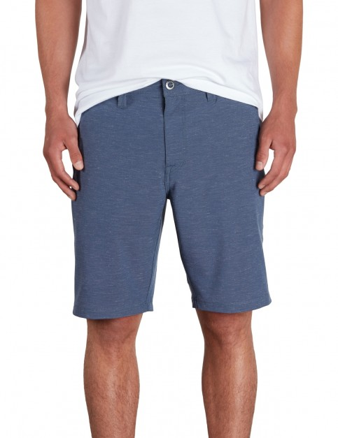 Volcom Frickin SNT Slub 20 inch Shorts in Deep Water