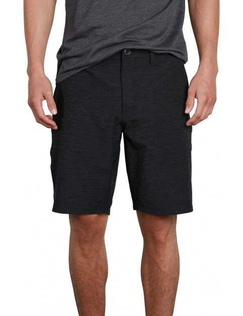 Volcom Frickin SNT Slub 20 Shorts in Black