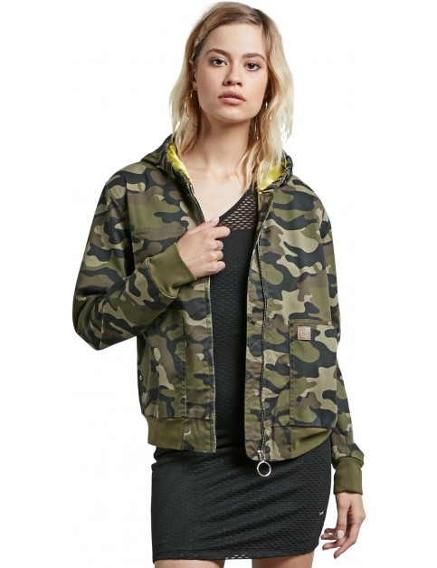 Volcom Frochickie Jacket in Dark Camo