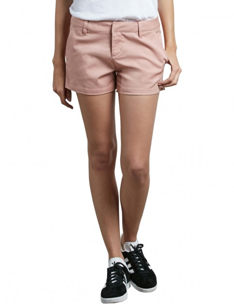 Volcom Frochickie Shorts in Mellow Rose