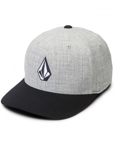 Volcom Full Stone Hthr XFIT Cap in Navy Heather