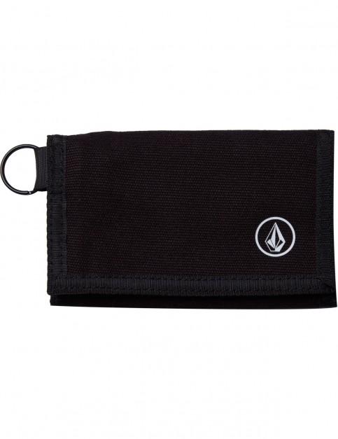 Volcom Full Stone Polyester Wallet in Black