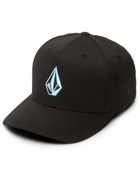 Volcom Full Stone XFIT Cap in Blue Bird