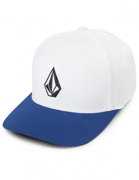 Volcom Full Stone Xfit Cap in Blue Plum