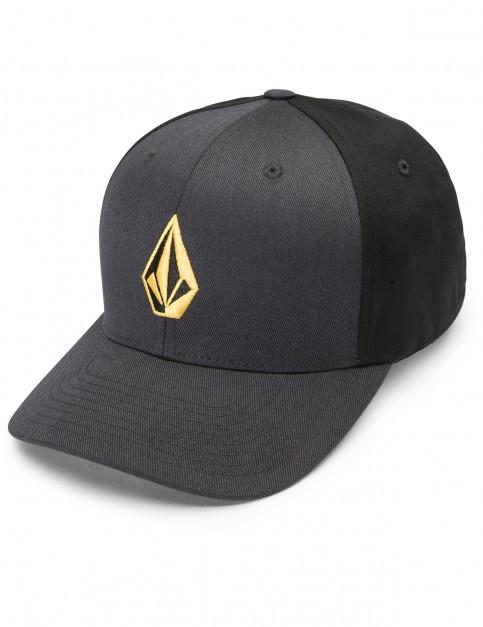 Volcom Full Stone Xfit Cap in Dirt Gold