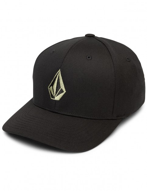 Volcom Full Stone Xfit Cap in Dusty Green