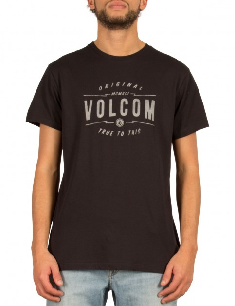 Volcom Garage Club Short Sleeve T-Shirt in Black