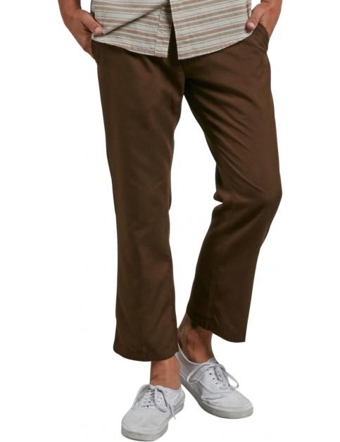 Volcom Garrick Chino Trousers in Dark Chocolate