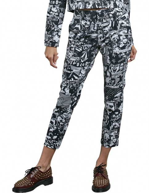 Volcom GMJ Frochickie Chino Trousers in Black