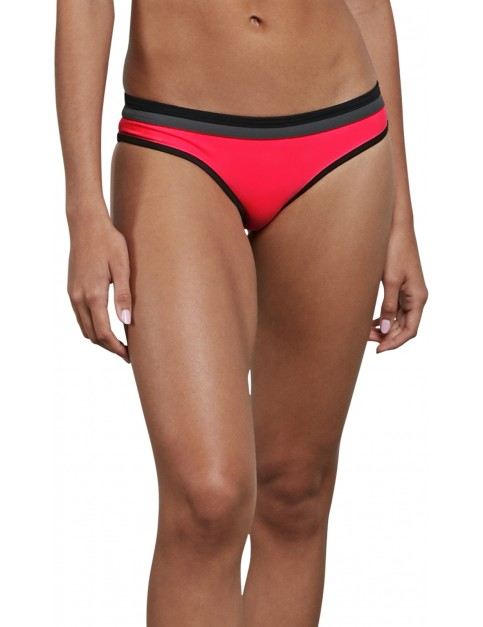 Volcom GMJ Modest Bikini in Electric Coral