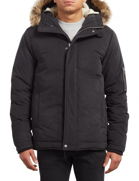 Volcom Goodman Parka Jacket in Black
