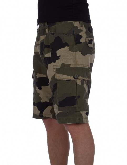 Volcom Granite Park Cargo Shorts in Camouflage