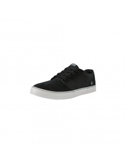 Volcom Grimm 2 Trainers in Black on Black