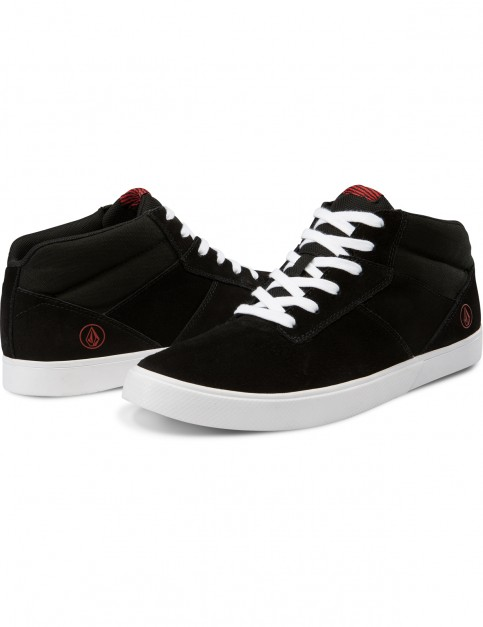 Volcom Grimm Mid 2 Trainers in Black Top
