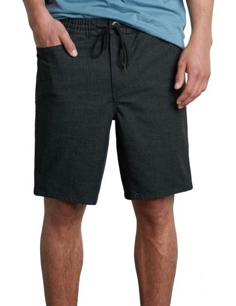 Volcom Gritter Thrifter Shorts in Gunmetal Grey