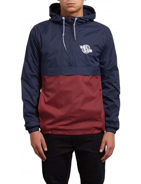 Volcom Halfmont Jacket in Navy