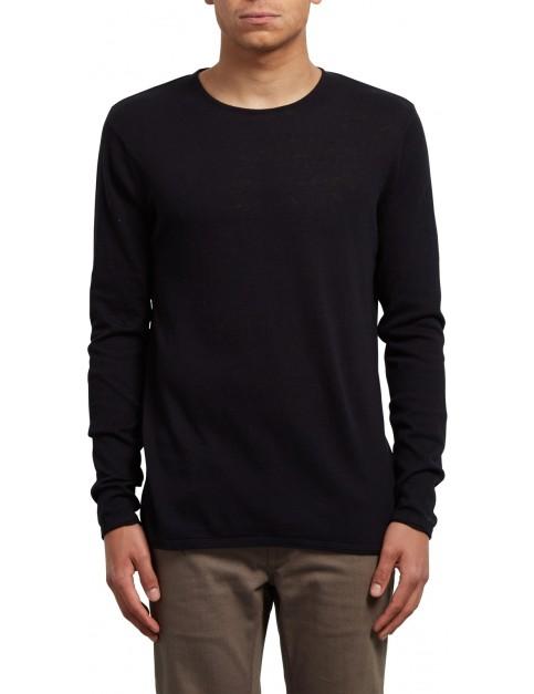 Volcom Harweird Crew Sweatshirt in Black