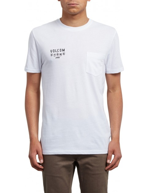 Volcom Hellacin Short Sleeve T-Shirt in White
