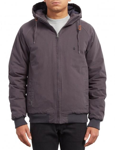 Volcom Hernan Coaster Jacket in Asphalt Black