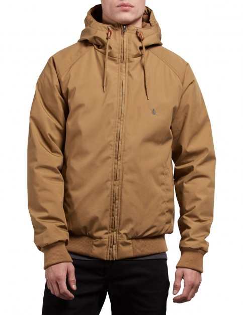 Volcom Hernan Jacket in Burnt Khaki