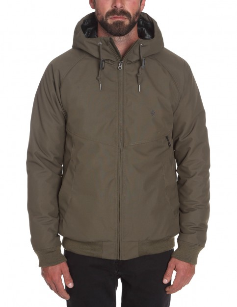 Volcom Hernan Update Rain Jacket in Military