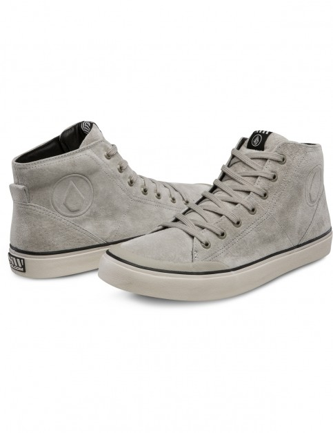 Volcom Hi Fi Lx Trainers in Brown Khaki