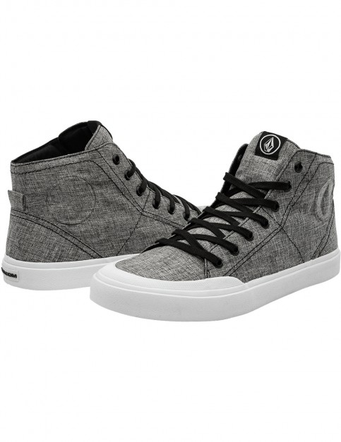 Volcom Hi Fi Trainers in Heather Black