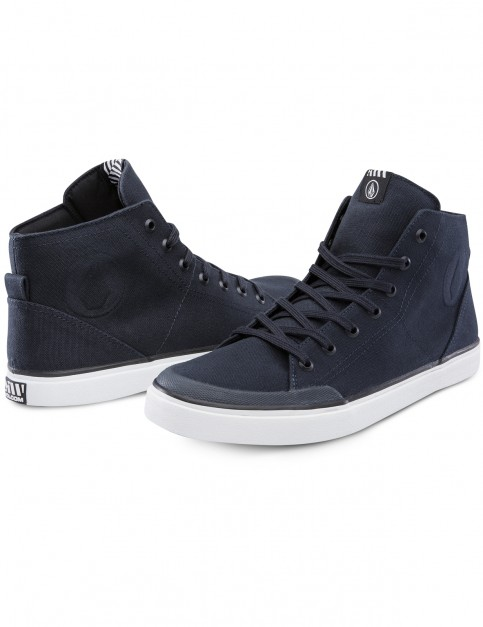 Volcom Hi Fi Trainers in Navy