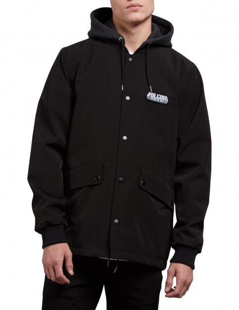 Volcom Highstone Jacket in Black