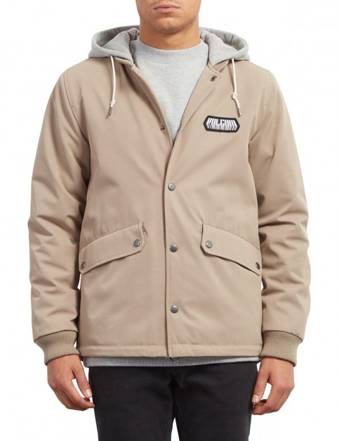 Volcom Highstone Jacket in Khaki