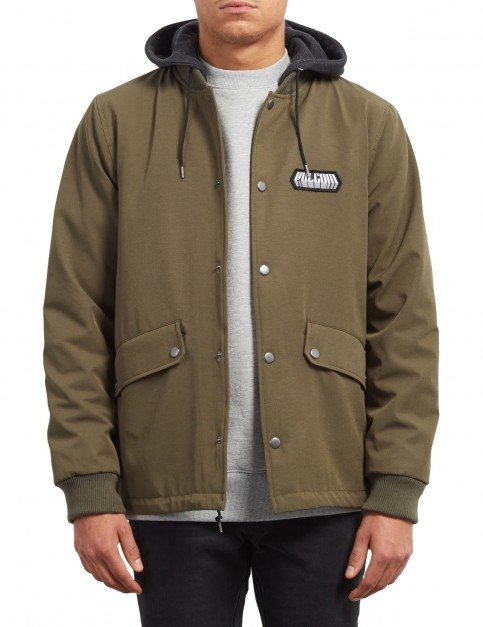 Volcom Hightstone Jacket in Military