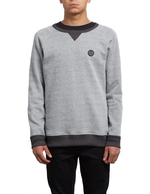 Volcom Homack Crew Sweatshirt in Heather Grey