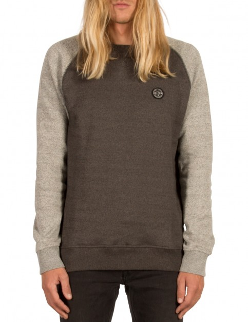 Volcom Homak Crew Sweatshirt in Grey
