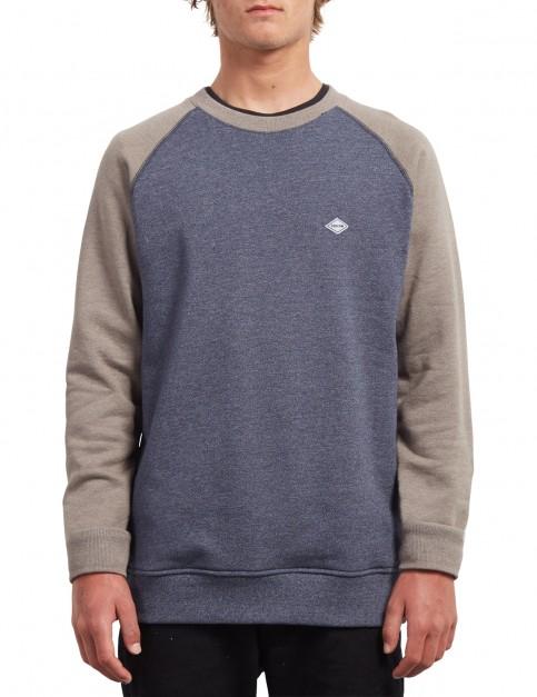 Volcom Homak Crew Sweatshirt in Mushroom