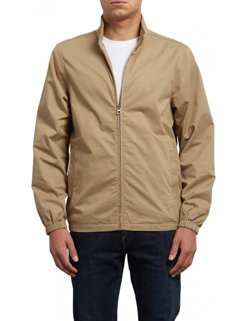 Volcom Hopton Jacket in Sand Brown