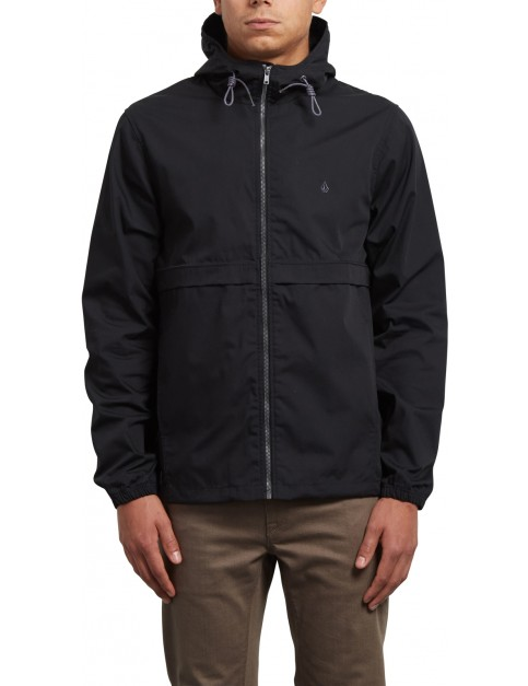 Volcom Howard Hooded Jacket in Black