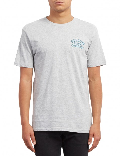 Volcom Hyptonec Short Sleeve T-Shirt in Heather Grey